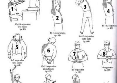 Cinco sencillos ejercicios que puedes hacer mientras est s for Ejercicios en la oficina