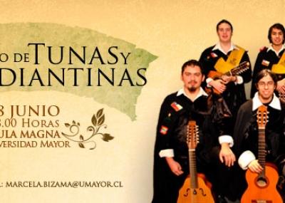 Tercer encuentro de tunas universitarias la opi for Casa de musica temuco